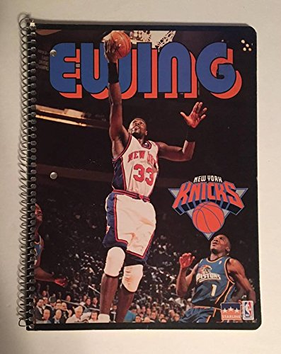 1998 Gem Mint Patrick Ewing New York Knicks 60 Sheet Spiral Notebook: Official NBA Basketball : Starline Holbrook New York