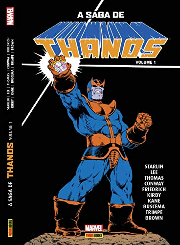 Saga Thanos 1 Jim Starlin