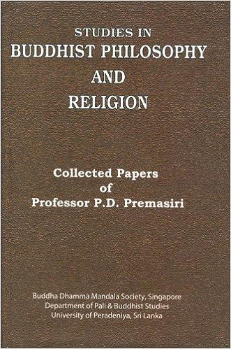 Studies in Buddhist philosophy