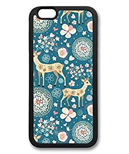 iPhone 6 Case, iCustomonline Flower Pattern Iphone Back Case Cover for iPhone 6 (4.7 inch)