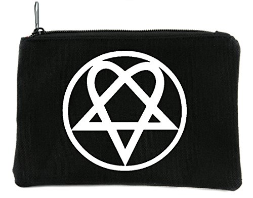 Heartagram HIM Cosmetic Makeup Bag Ville Valo Gothic Metal Accessories -