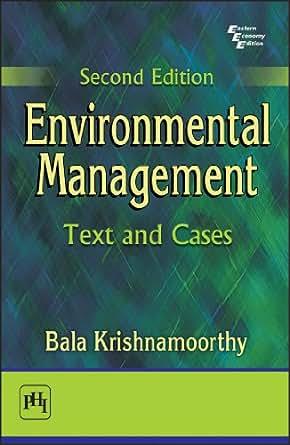Environmental Management Books Pdf
