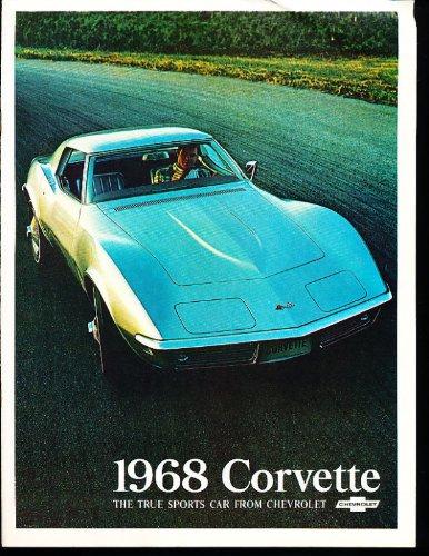 1968 Chevrolet Corvette Stingray Sales Brochure