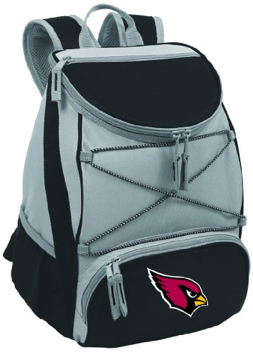 PICNIC TIME NFL Arizona Cardinals PTX Insulated Backpack Cooler, Red by PICNIC TIME