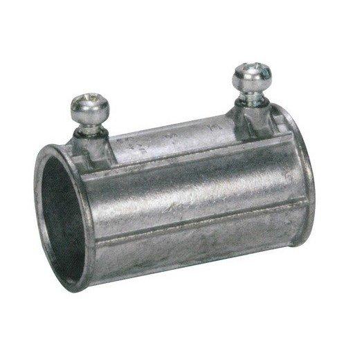 Morris Products 14877 EMT Set Screw Coupling, Zinc Die Cast, 3