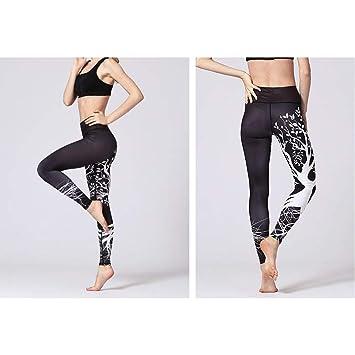 WEICHUNC Los Pantalones de Yoga impresión de Las Mujeres y ...