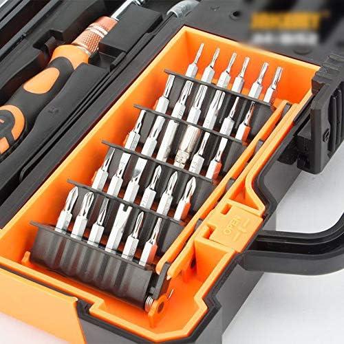 LilyAngel ドライバーセット46-in-1ハードウェアツールセット分解ツールツールキットドライバービットセット