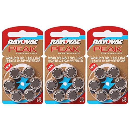 hearing-amplifier-battery-rayovac-peak-performance-size-675-18-batteries