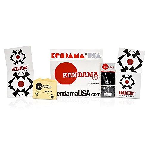 Kendama USA - Tribute - Kanji Kendama - Black Ball with Gold Kanji by Kendama USA (Image #1)