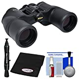Nikon Aculon A211 8x42 Binoculars with Case with FogKlear Cloth + Lens Pen + Cleaning Kit