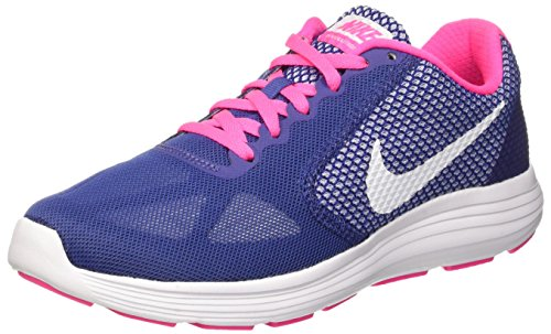 nike-womens-revolution-3-dk-prpl-dst-white-pnk-blst-pls-running-shoe-9-women-us