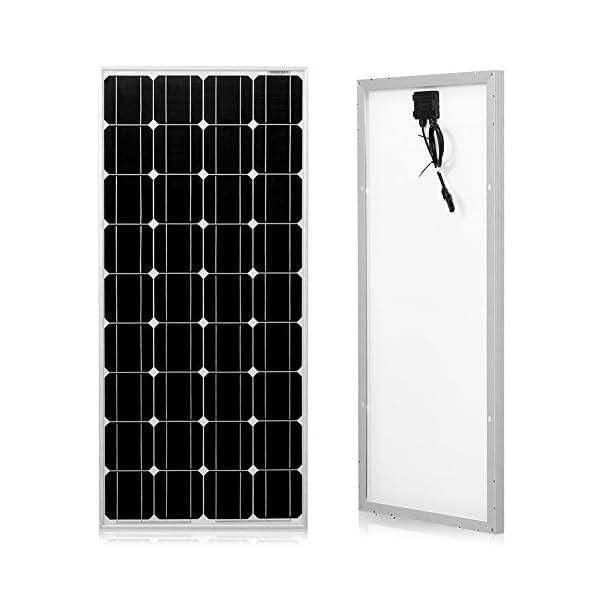 51FIxiopovL. SS600  - Dokio 100 Watts 12 Volts Monocrystalline Solar Panel