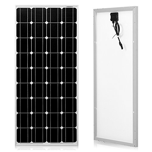 Dokio 100 Watts 12 Volts Monocrystalline Solar Panel by Dokio