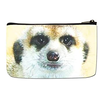 6321e727d9c2 Amazon.com : Lgtbg Makeup Travel Case Meerkat Large Makeup Bags One ...