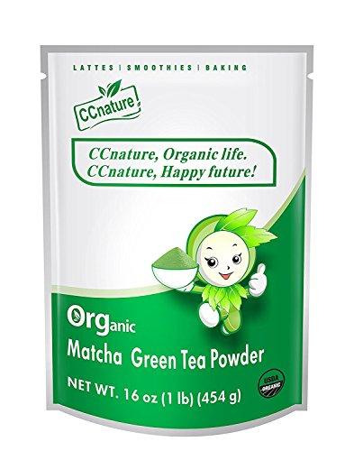 CCnature Organic Matcha Green Powder