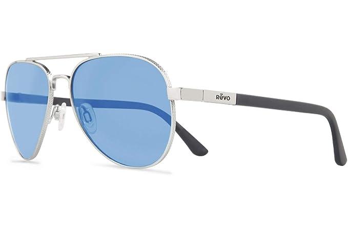 13017bc6898 Revo Raconteur RE 1011 03 BL Polarized Aviator Sunglasses