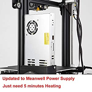 CCTREE Creality Ender 3 Pro 3D Printer with Upgrade Cmagnet Build Surface Plate and MeanWell Power Supply 220x220x250mm by Creality 3D