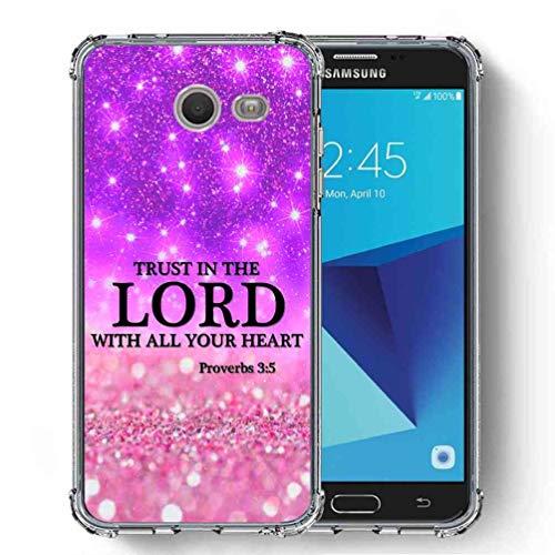 (for Samsung Galaxy J7 V 2017 (1st Gen) / Galaxy J7 2017 / Galaxy J7 Prime/Galaxy J7 Perx/Galaxy J7 Sky Pro/Galaxy Halo Case, SuperbBeast Ultra Slim Thin Protective Case w/Reinforced)