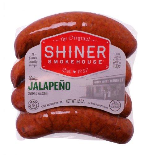 UPC 894854001326, Shiner Smokehouse Spicy Jalepeno Smoked Sausage (7 Pack)