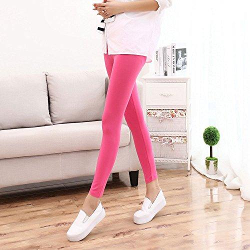Leggings Taille Moulant Hoverwin Slim Capri Modal Pantalon Femme CxtQrdsh
