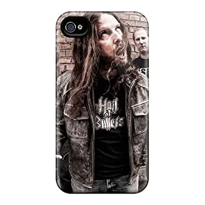Bumper Hard Cell-phone Case For Iphone 4/4s With Customized Lifelike Catamenia Band Skin JasonPelletier