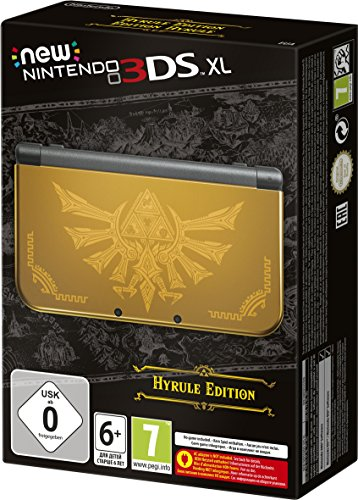 New Nintendo 3DS XL Hyrule Edition, Konsole