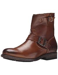 Frye Women's Tyler-SVL Engineer Boot, Black, 5.5 M US