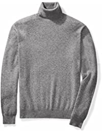 "<span class=""a-offscreen"">[Sponsored]</span>Men's Cashmere Turtleneck Sweater"