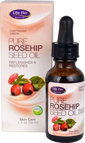 Life-Flo Pure Rosehip Seed Oil -- 1 fl oz - 2pc