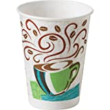 Dixie 5338CDCT Insulated Paper Hot Cups 8oz. 1000/CT