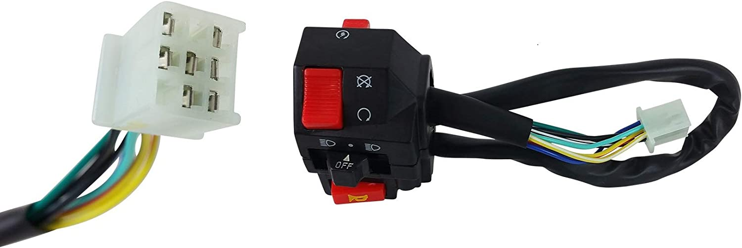 Left Switch Assembly for Kazuma Falcon 110cc ATVs 110 CC 110c Quad 4 Wheeler