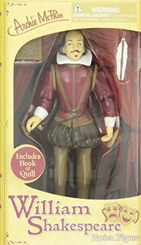 Shakespeare 6 Vinyl Action Figure by Accoutrements