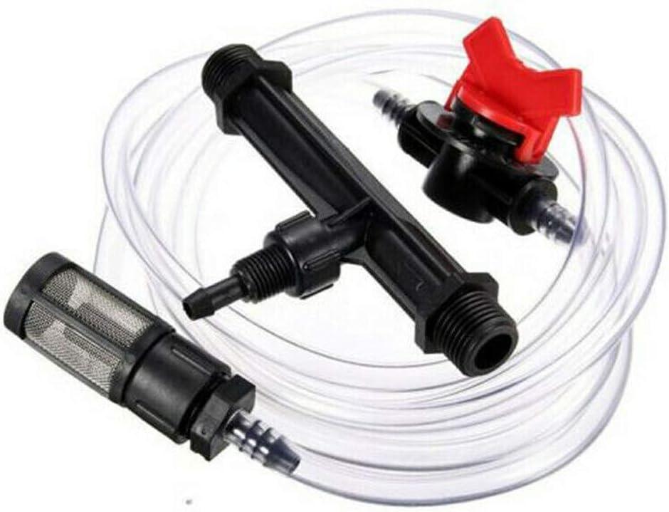DAWEIF Irrigation Venturi Fertilizer Mixer Injectors kit Agriculture Garden Water Tube Switch Filter