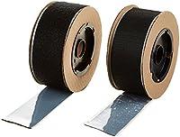 "VELCRO 3806-SAT-PSA/B Black Super Adhesive Nylon Hook and Loop Combo Pack, 0132 Adhesive Backed, 2"" Wide, 15' Length"
