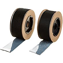 "VELCRO 3806-SAT-PSA/B Black Super Adhesive Nylon Hook and Loop Combo Pack, 0132 Adhesive Backed, 2"" Wide, 15' Length"