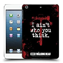 Official AMC The Walking Dead Daryl Think Quotes Hard Back Case for Apple iPad mini 1 / 2 / 3