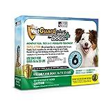 VetGuard Plus Flea & Tick Treatment for Medium Dogs, 16-33 lbs, 6 Month
