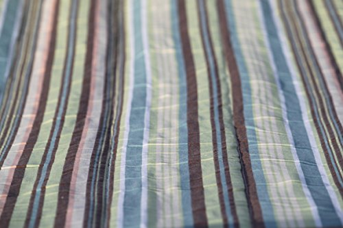 Pebble Lane Living Antiqua Premium Quilted Hammock with Pillow ()