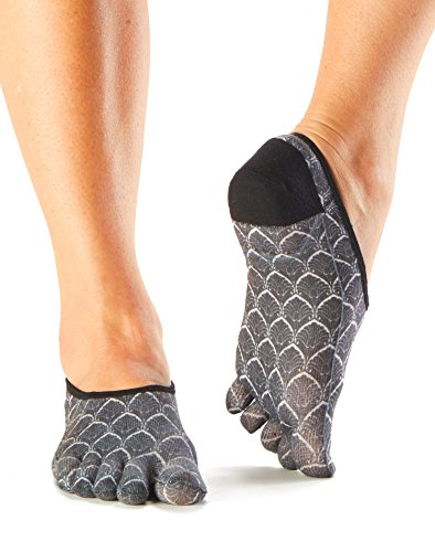 ToeSox Women's Casual Dash Socks (Deco) Medium