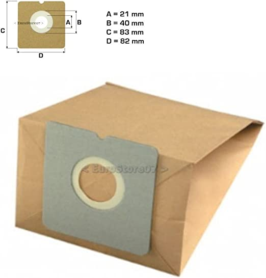 8 bolsas bolsas aspirador Fagor 301.. 305 Nano Vce 145 Vce Color ...