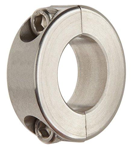 Big Bearing SDSC26X1-5/8 Double Split Shaft Collar, 1-5/8'' Bore Size, 2-5/8'' Outside Diameter, 11/16'' Width, Stainless Steel