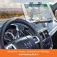 Heavy Duty Vehicle Console Mount for All 7-10 Tablets and Business Vehicles Personal iBOLT TabDock Bizmount Wedge iPad, Nexus, Samsung Tab Great for Work