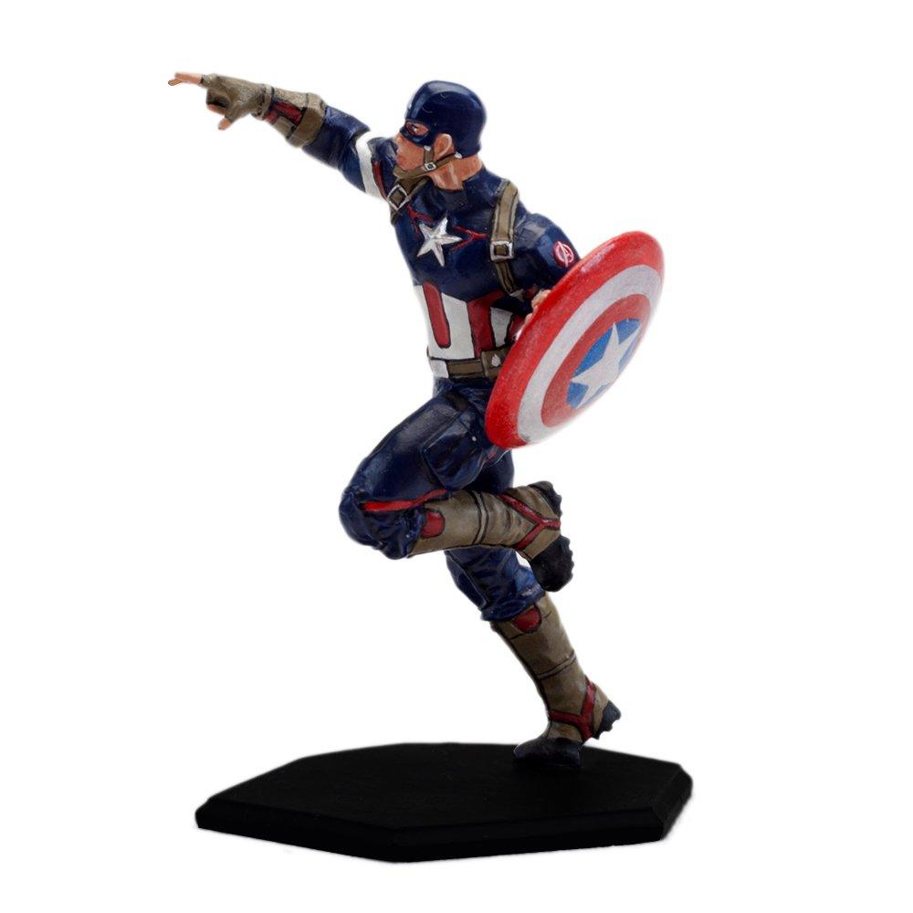 Factory Entertainment 408697 Marvel Comics-Age of Ultron Metal Miniature-Captain America Inc.