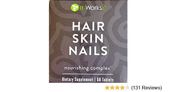 Amazon It Works Hair Skin Nail Health Personal Care
