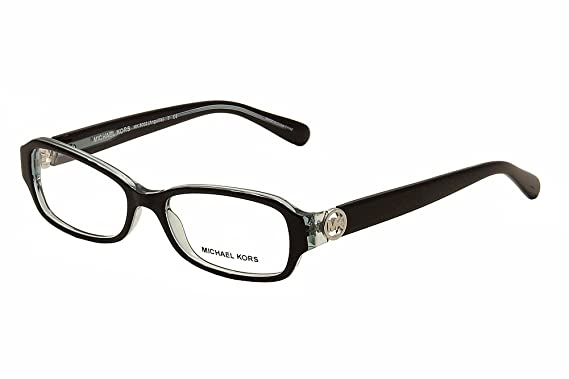 Michael Kors ANGUILLA MK8002 Eyeglass Frames 3001-52 - Black/Blue at ...