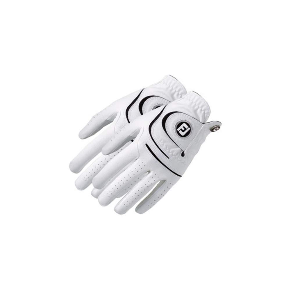 FootJoy ウェザーソフ グローブ 2パック メンズ レギュラー左手用 Mサイズ   B003M753G4