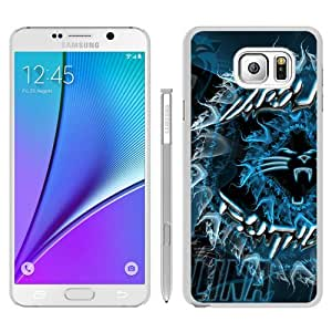 Unique Samsung Galaxy Note 5 Skin Case ,Fashionable And Durable Designed Phone Case With Carolina Panthers 33 White Samsung Galaxy Note 5 Screen Cover Case