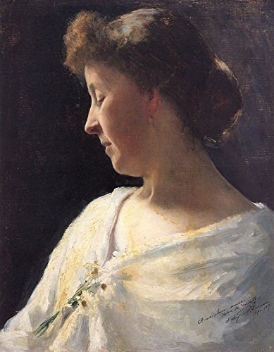 Stephen Seymour Thomas Portrait of Miss Helen Haskell Private Collection 30