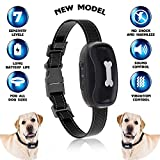 Dog Bark Collar [2018New Version] Humanely Stops Barking with Sound and Vibration. No Shock, Harmless and Humane. Small Dog Bark Collar, Medium Dog Bark Collar Free Spirit Bark Collar Anti Bark Review