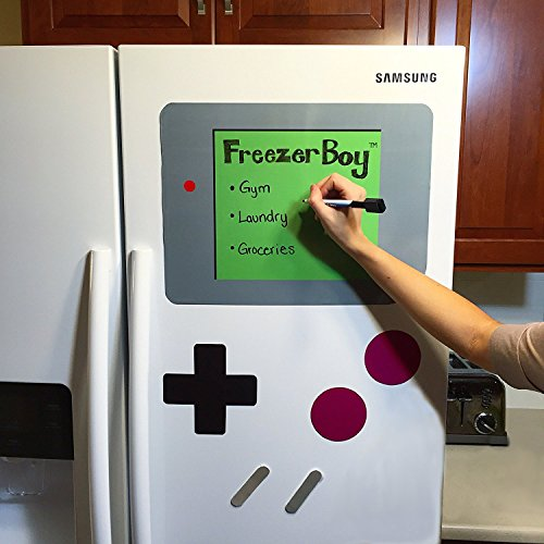 FreezerBoy Refrigerator Magnets (Dry-Erase Whiteboard Set)
